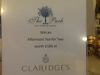 Win an afternoon tea for two at Claridges in Mayfair, London
